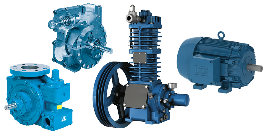 Pumps, Compressors & Motors